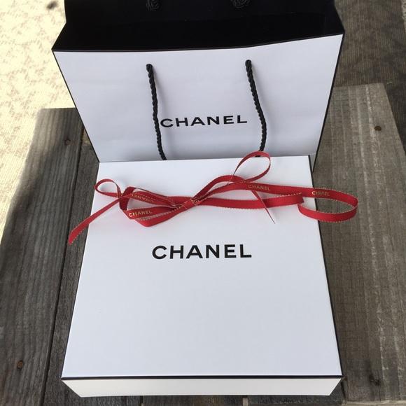 55e70376615b CHANEL Handbags - CHANEL Gift Bag Box & Ribbon